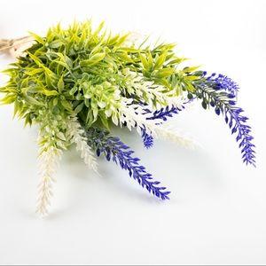 Artificial Lavender Wild Flower Rustic Bouquet